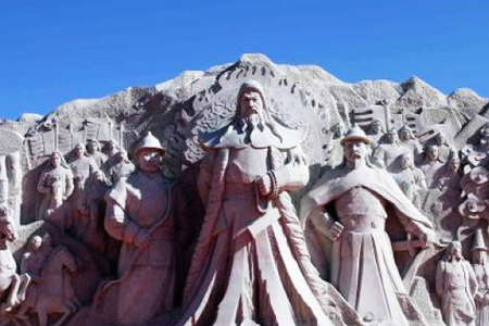 固始汗主题雕像项目